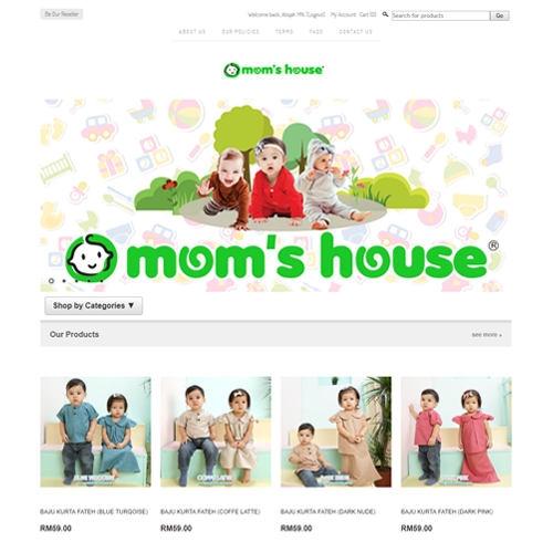 Moms' House Baby Shop