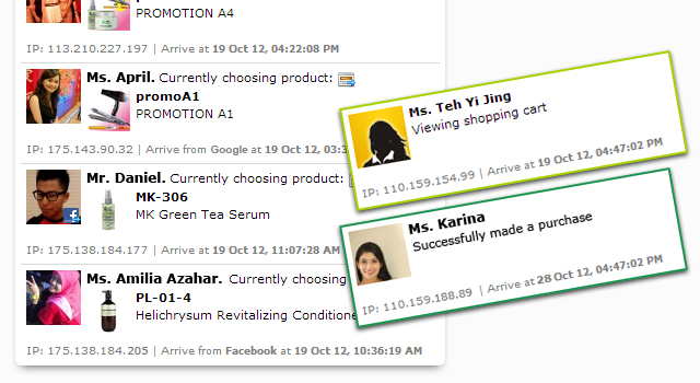 customer tracking