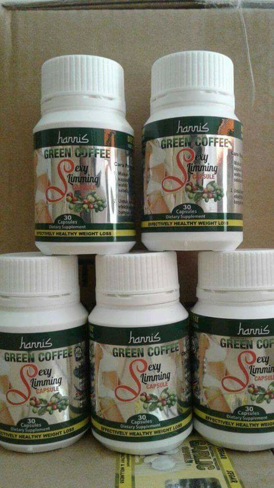 HANNIS GREEN COFFEE SEXY SLIMMING CAPSULE | 11street ...